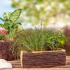 tronc d arbre artificiel commander en toute simplicité jardinière imitation tronc d u0027arbre
