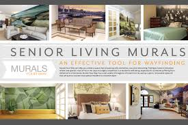 How To Decorate A Nursing Home Room Wall Murals For Way Finding In Senior Living Facilities And