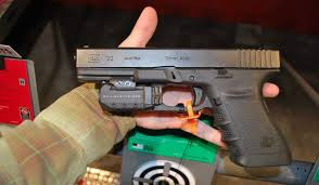 laser light combo for glock 22 crimson trace introduces rail master pro laser light combo at shot