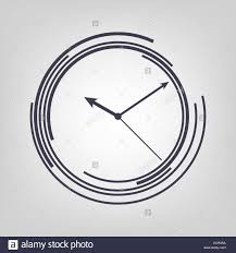 watch icon black vector time clock simple stock photo royalty