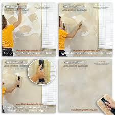 sponge paint roller dutch boy technique glaze painting edging