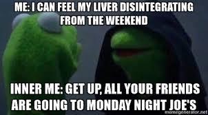 Kermit Meme Generator - if kermit the frog inner me memes were about uiuc