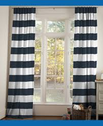 Rugby Stripe Curtains by Cool Navy And White Striped Curtains For Your Cozy Interior Rooms