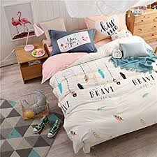 Home Bedding Sets Amazon Com Warmgo Home Bedding Set For Adult Kids Dream Feather