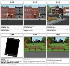 Walking Map App Television Advert Storyboard Storyboard By Lloyd 24
