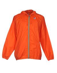 k way jacket orange men coats and jackets k way atlas 3 in 1
