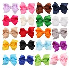 diy baby hair bows diy neon grosgrain bows on prong baby hair bow ribbon