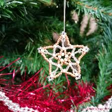 beaded star project from mastering beadwork by carol huber