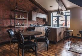 kitchen decorating exposed brick design ideas brick veneer near