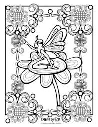 fairy november gatherings www pheemcfaddell coloring pages