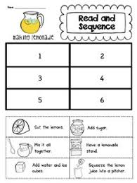 twenty eight 3 step sequencing boards allow multiple practice