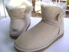s ugg australia mini leather boots ugg mini bailey button ebay