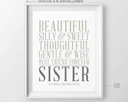 sister gift personalized gift for sister wedding gift for