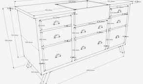 dimensions meubles cuisine largeur meuble cuisine dimension meuble cuisine great taille