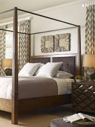 echo park king canopy bedroom set a r t furniture home