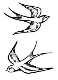 swallow bird tattoo style tattoomagz
