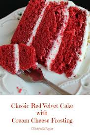 o taste and see classic red velvet cake with cream cheese frosting