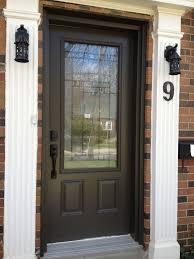 Exterior Doors Steel Exterior Natty Decorative Glass Steel Front Entry Doors For Your