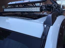 How To Install Led Light Bar On Roof by Help With 42 Inch Led Light Bar Install