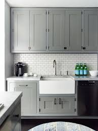 pics of kitchens with white cabinets and gray walls 32 stylish ways to work with gray kitchen cabinets