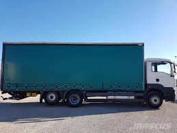 used man tga 26 320 curtain side trucks year 2007 price 41 405