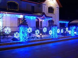 Home Decoration For The New Year by Facade Decoration For New Year Holidays Dizainall Com