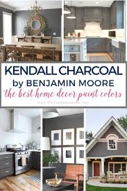 best paint colors for kitchen cabinets benjamin the best home decor paint colors kendall charcoal the