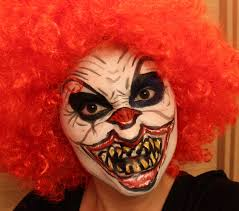 Halloween Clown Makeup by Scary Clown Makeup Youtube