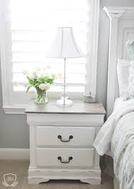 Bedroom Furniture Painted With Chalk Paint Nightstand Chalk Paint Tutorial Chalk Paint Tutorial Chalk