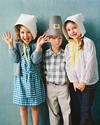 happy thanksgiving pilgrim paper pilgrim bonnet martha stewart
