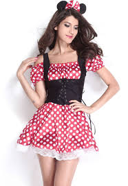 halloween lingerie minnie mouse mistress costume lc8829 17 99 colored contacts