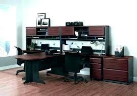 long computer desk for two 2 person corner desk long 2 person corner computer desk amicicafe co