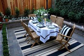 resistant outdoor rugs patio traditional with brick paving