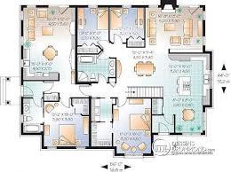 plan maison moderne 6 chambres