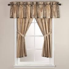 Curtains Valances Buy Gold Curtains Valances From Bed Bath Beyond