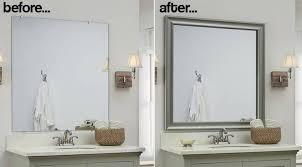 frame bathroom wall mirror 15 ideas of frame bathroom wall mirrors