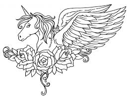 printable 14 winged unicorn coloring pages 5924 winged unicorn