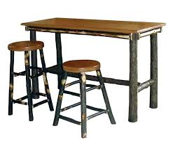 rectangle pub table sets pub bar table set bar table with chairs hickory rectangle pub table