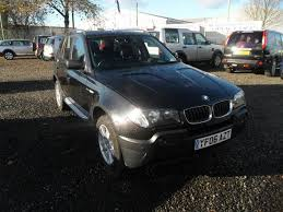 bmw x3 2006 manual used bmw x3 2006 black paint diesel 2 0d se 5dr 4x4 for sale in