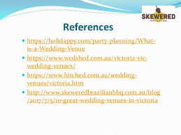 what is a wedding venue wedding venues in ppt