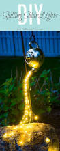 Patio Lights Ideas by Best 25 Solar Lights Ideas On Pinterest Outdoor Deck Decorating