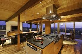 Hillside Home Opened Up With A Post And Beam Makeover - Post beam home designs