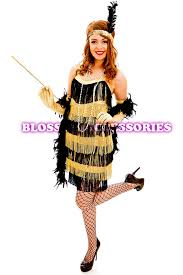 Halloween Flapper Costumes G58 1920s Roaring 20s Black Red Flapper Costume Charleston Dress
