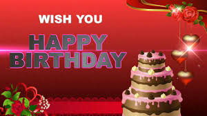 birthday greetings video messages images wishes ecard animation