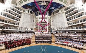 world u0027s biggest cruise ship makes its maiden voyage travel leisure