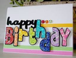 fabulous birthday cards with sparkle paper lace card card and
