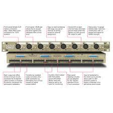 radial ox8 8 channel rackmount splitter frontendaudio com
