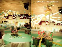 diy circus themed affair seafoam mint green and champagne gold