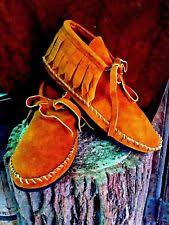 womens moccasin boots size 12 indian moccasins boots ebay