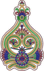 Traditional Design Beautiful Indian Traditional Butta Decor Designs Embroideryshristi